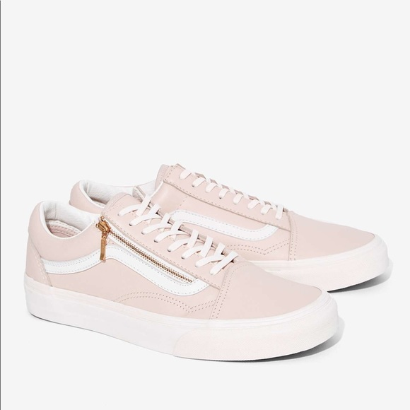 ISO VANS old skool zip (pink) NWT